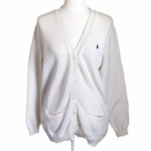 Ralph Lauren Sport Sweater Boyfriend Fit Cardigan